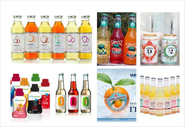 Beverage Organic Product Packaging