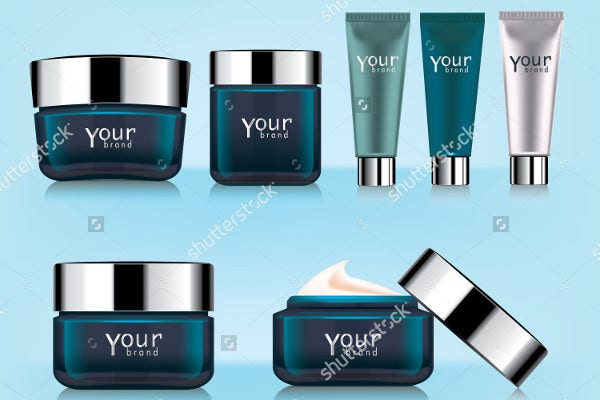 Cosmetic Plastic Product Packaging