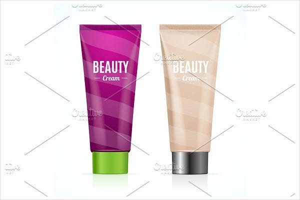 Beauty Cosmetic Bottles Product Packaging