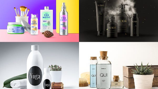 cosmetic product packagings