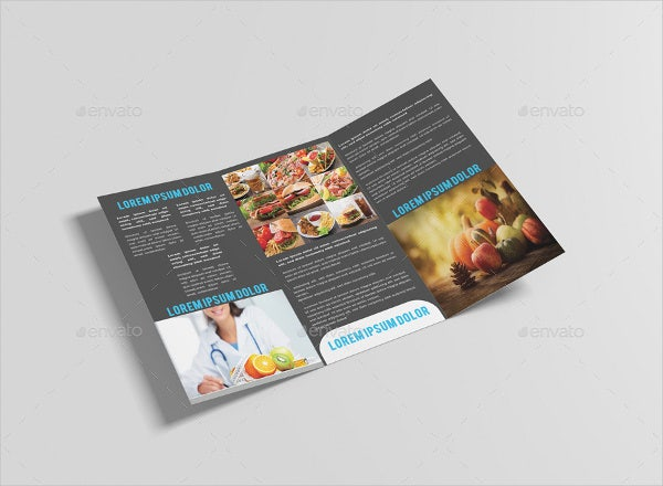 Healthy Food & Restaurant Brochure