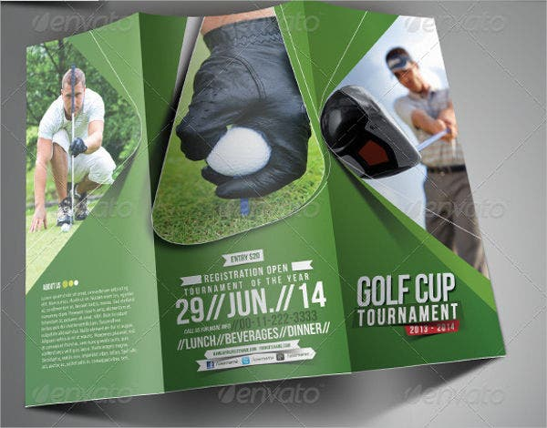 golf-event-trifold-brochure