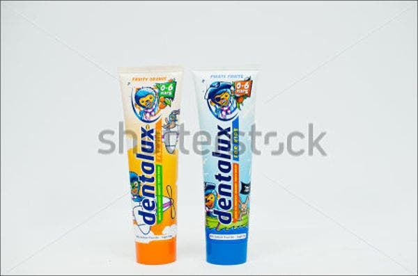 kids health product packaging