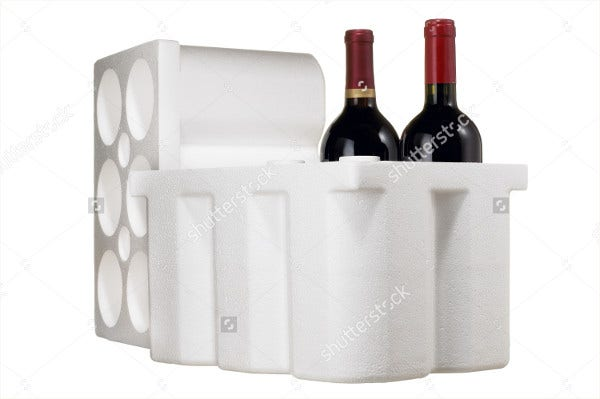 wine bottle foam packaging