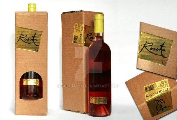 unique wine bottle packaging