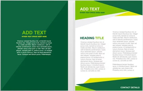8 Golf Event Brochures Design Templates – Event Brochure Template