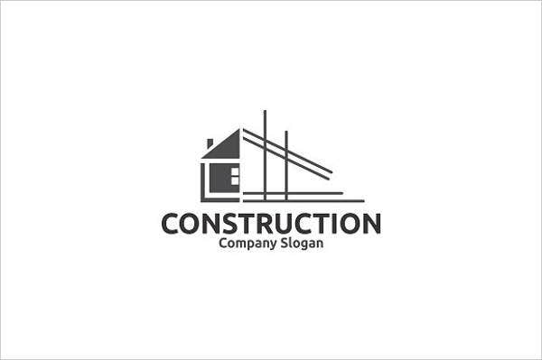 9 construction company logos psd vector eps ai file for House construction companies