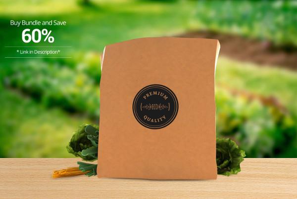 Food Product Paper Bag Packaging
