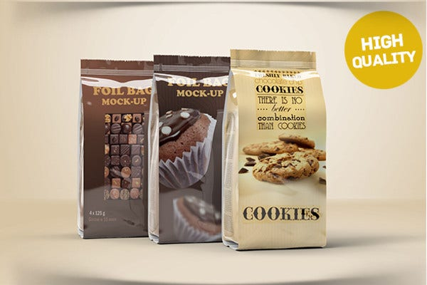 food productfoil bag packaging