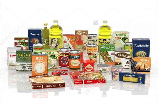 food and beverage product packaging