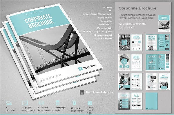 corporate business company brochure