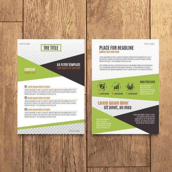 modern business company brochure