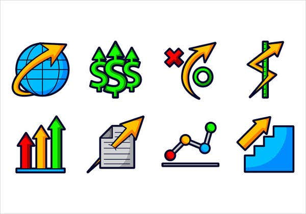 Modern Corporate Business Icons