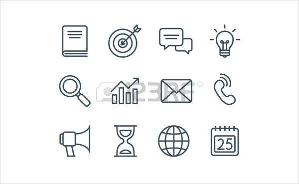 clean business icons1