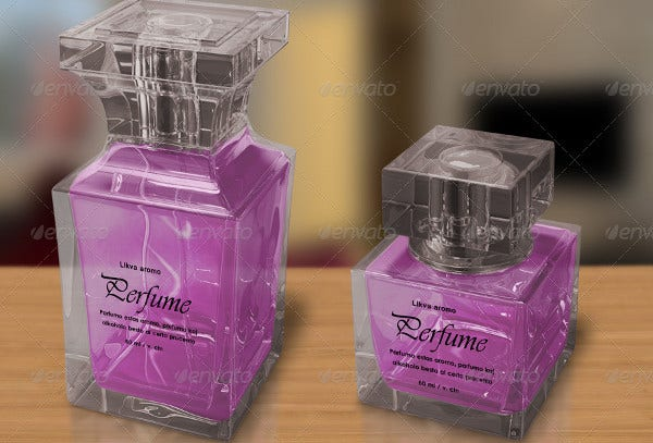 Transparent Perfume Bottle Packaging