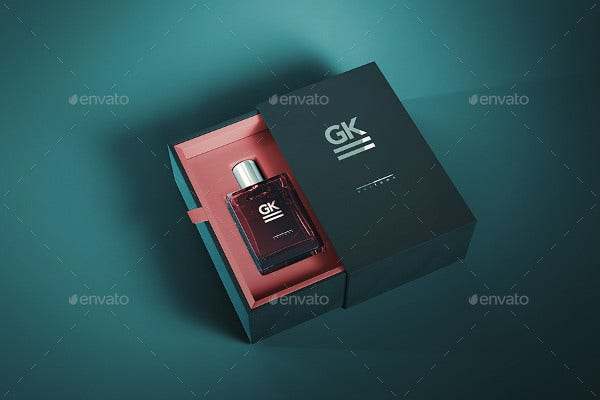 perfume bottle box packaging