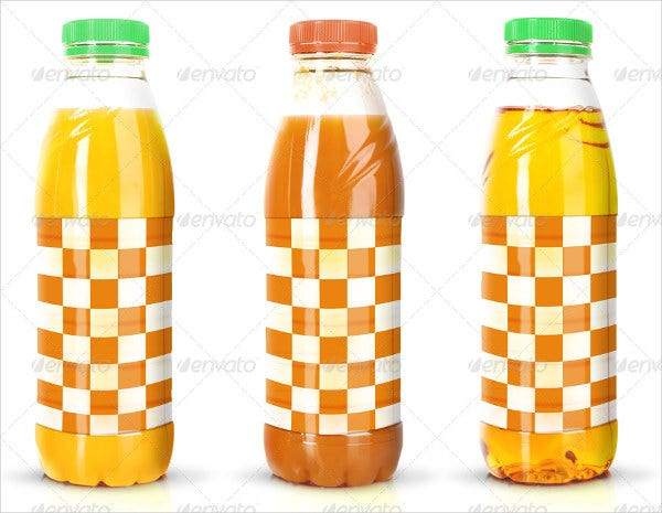 3D Juice Bottle Packaging