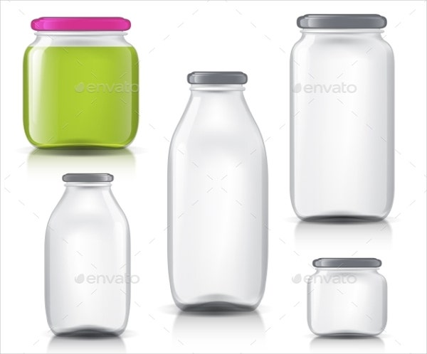 transparent juice bottle packaging