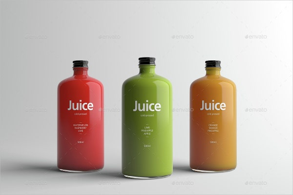 unique juice bottle packaging