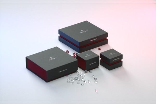 jewelry box product packaging