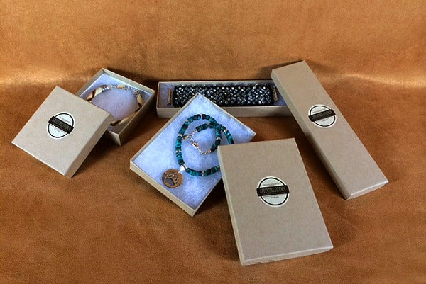 Handmade Jewelry Product Packaging