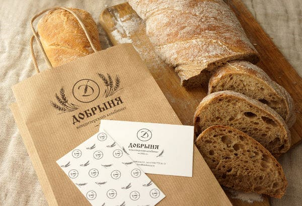 Homemade Bakery Product Packaging