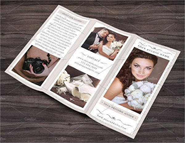 Photography Trifold Business Brochure