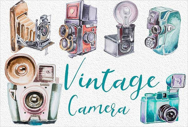 professional vintage photography logo
