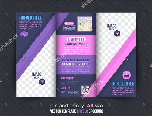 Multipurpose Trifold Business Brochure