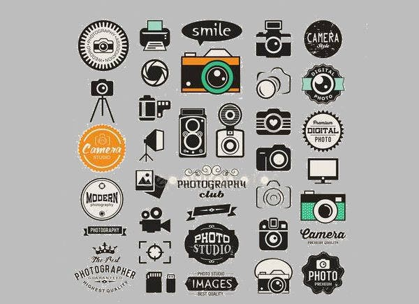 vintage photography studio logo1
