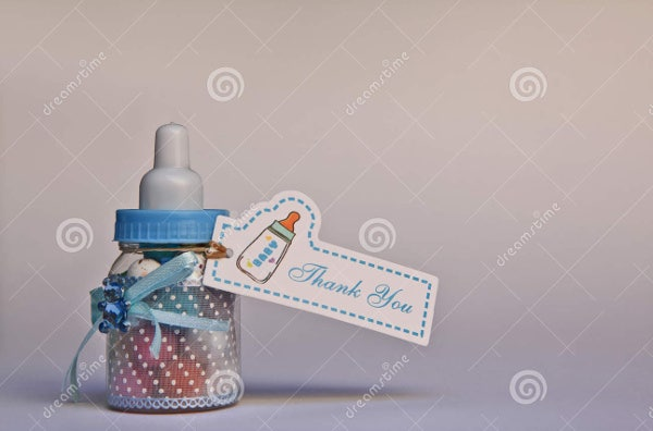 baby shower gift thank you card
