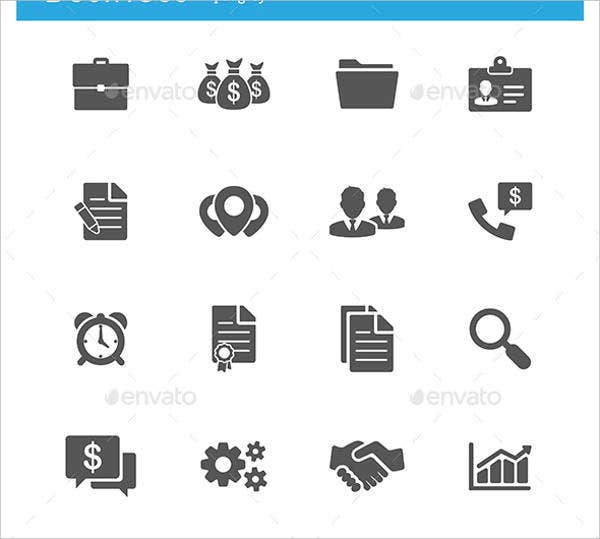 vector-business-and-finance-icons-set