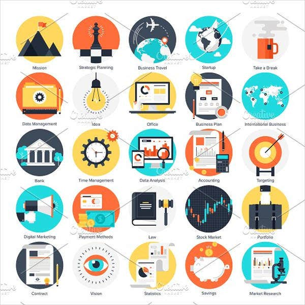 abstract-business-and-finance-icons