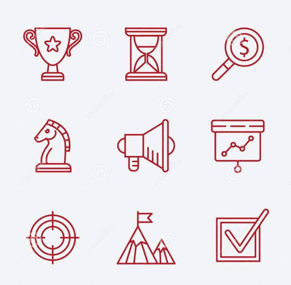 small-flat-business-icons