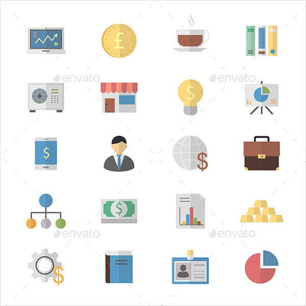 flat-design-business-and-finance-icons