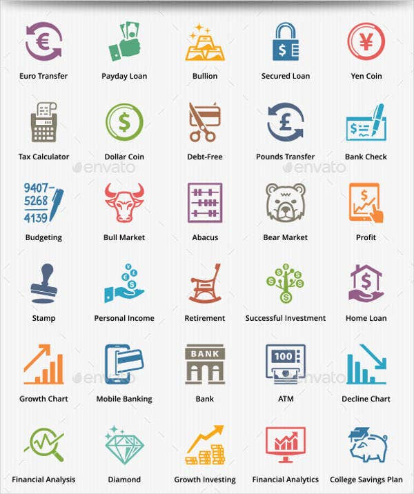 personal-business-finance-icons