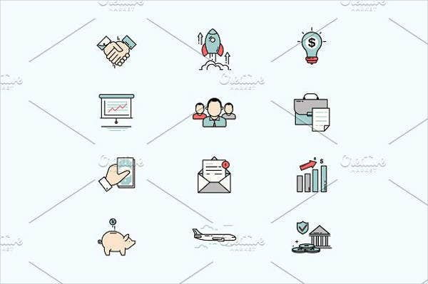 business-and-finance-line-icons