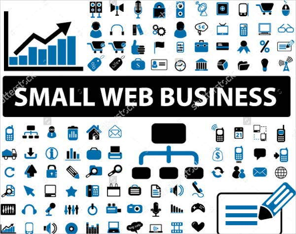 small-web-business-icons