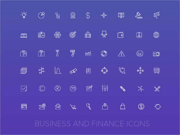 free-business-and-finance-icons