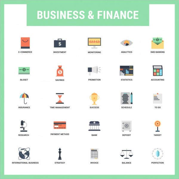flat-business-and-finance-icons