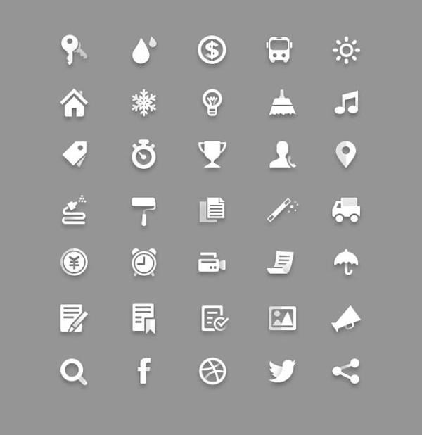 free-psd-web-app-icons