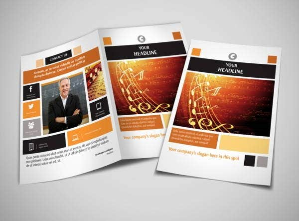 Music Brochures  Editable Psd Ai Vector Eps Format Download