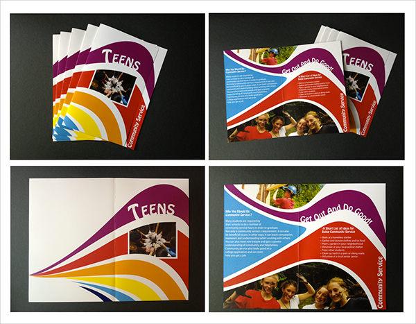 community service brochure