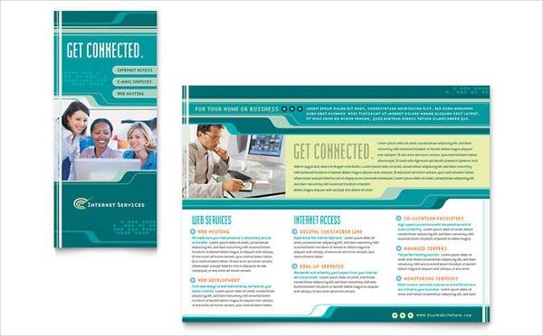 internet service provider brochure