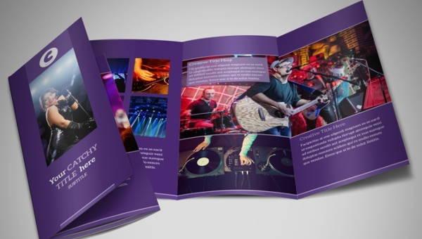 10  music brochures