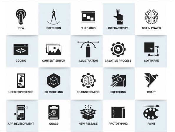 7 business process icons designs templates free premium free business process icons wajeb Choice Image