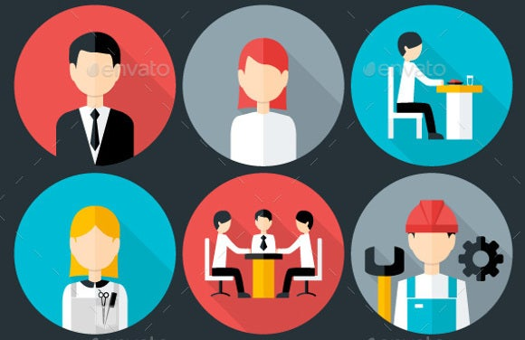 flat-business-people-icons
