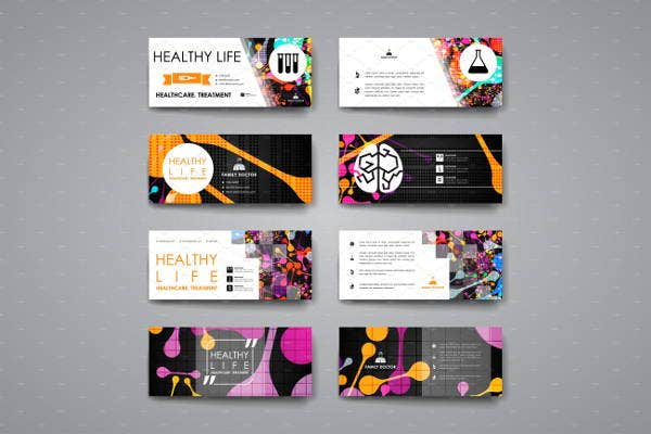 pharmacy healthcare business cards