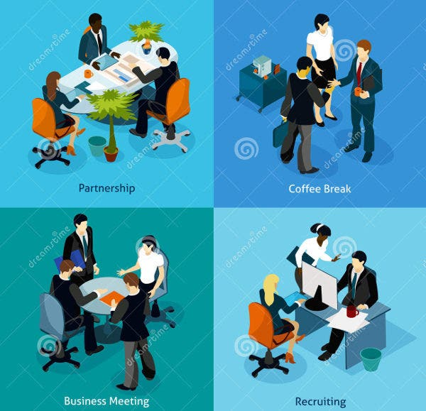 isometric-business-people-icons