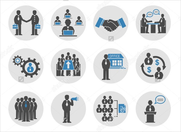 business-people-meeting-icons-set